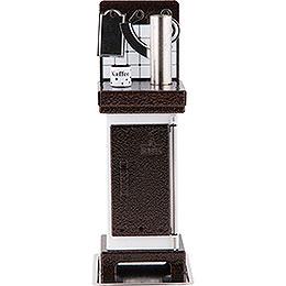 Incense Cone Stove White/Copper  -  19cm / 7.5 inch
