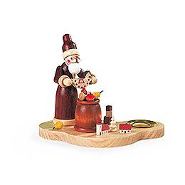 Kerzenhalter  -  Bescherung  -  9cm