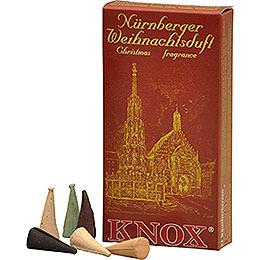 Knox Incense Cones  -  Nuremberg Christmas Fragrance Mix