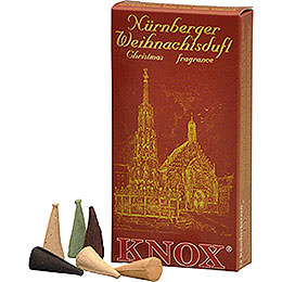 Knox Incense cones  -  Nuremberg Christmas fragrance mix