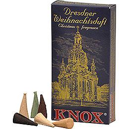 Knox Räucherkerzen  -  Dresdner Weihnachtsmischung