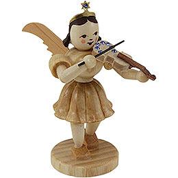 Kurzrockengel Violine mit SWAROVSKI ELEMENTS, natur  -  6,6cm