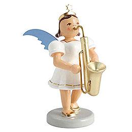 Kurzrockengel farbig Saxophon  -  6,6cm
