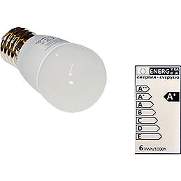 LED Light Bulb E27, 6 Watt