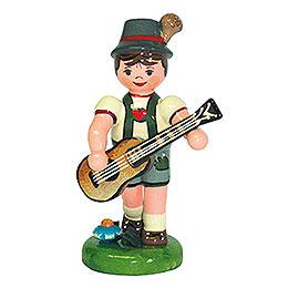Lampionkind Junge mit Gitarre  -  8cm