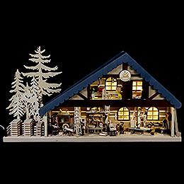 Lichterhaus Tischlerei  -  70x38x8cm