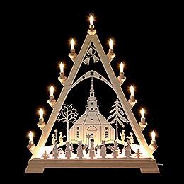Lichterspitze  -  Seiffener Kirche