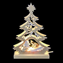 Light Triangle  -  Bobsleigh Rider  -  LED  -  23.5x15.5x4.5cm / 9.06x5.91x1.57 inch
