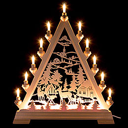 Light Triangle  -  Forest Hut  -  56cm / 22 inch