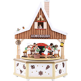 Music Box Angel bakery  -  13 inch  -  34cm