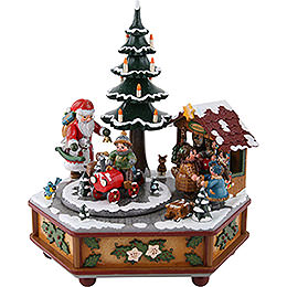 Music Box Christmas  -  22cm / 9 inch