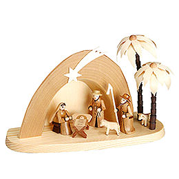 Nativity Set  -  Grotto  -  15cm  / 6 inches