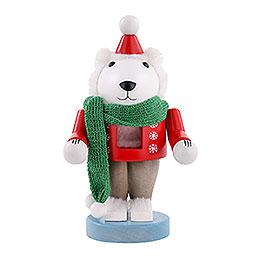 Nussknacker Eisbär  -  25cm