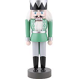 Nussknacker König grün  -  25cm