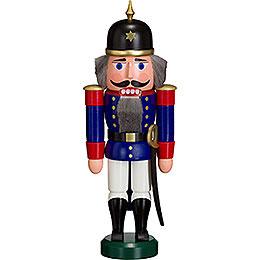 Nussknacker Soldat blau  -  27cm
