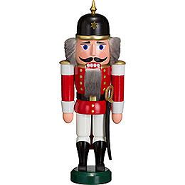 Nussknacker Soldat rot  -  27cm