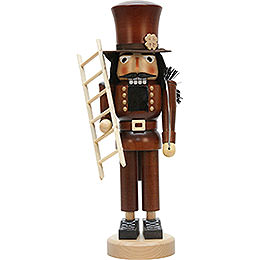 Nutcracker Chimney Sweep natural colors  -  40,5cm / 16 inch