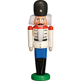 Nutcracker Dane white  -  9cm / 3.5 inches