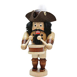 Nutcracker Drummer natural  -  16,0cm / 6.3inch