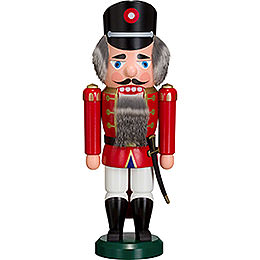 Nutcracker  -  Policeman Red  -  35cm / 14 inch
