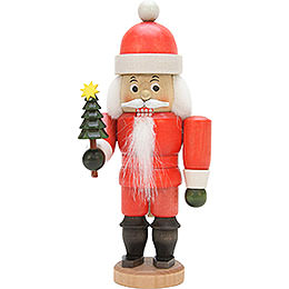 Nutcracker Santa Claus glazed  -  17,5cm / 6.9inch