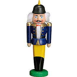 Nutcracker Soldier blue  -  9cm / 3.5 inches