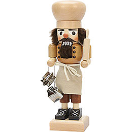 Nutcracker baker natural  -  27cm / 10.6inch
