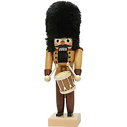 Nutcracker drummer natural  -  30cm / 11.8inch
