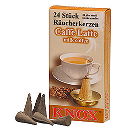 R�ucherkerzen  -  Caffee Latte