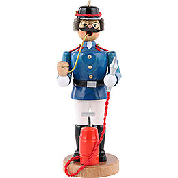 Räuchermännchen Feuerwehrmann  -  21cm