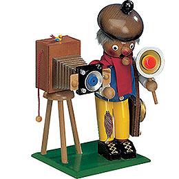 R�ucherm�nnchen Fotograf mit Musik  -  25cm