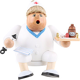 R�ucherm�nnchen Kantenhocker - Krankenschwester  -  16cm