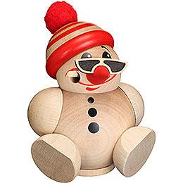 Räuchermännchen Kugelräucherfigur Cool Man mit Mütze  -  12cm