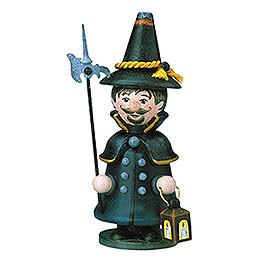 R�ucherm�nnchen Miniatur Wichtel Nachtw�chter  -  14cm
