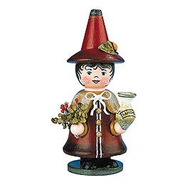 R�ucherm�nnchen Miniatur Wichtel Sandel Fee  -  14cm