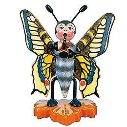 Schmetterling Schwalbenschwanz - Flöte  -  8cm