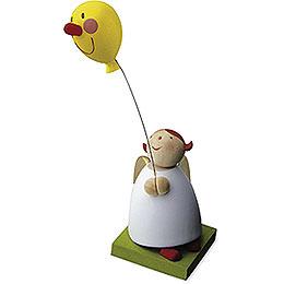 Schutzengel mit Luftballon mit Gesicht  -  3,5cm