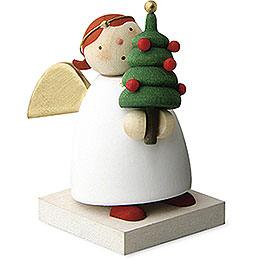 Schutzengel mit Weihnachtsbäumchen  -  3,5cm