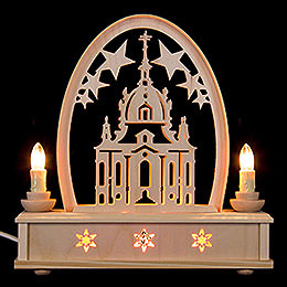 Seidel Arch Church of Dresden  -  25cm / 10 inch