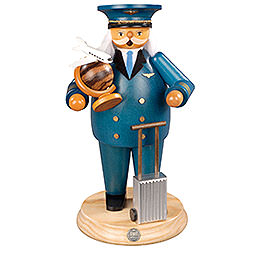 Smoker  -  Airplane Captain  -  25cm / 10 inch