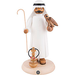 Smoker Arabian with Hawk  -  27cm / 11 inch