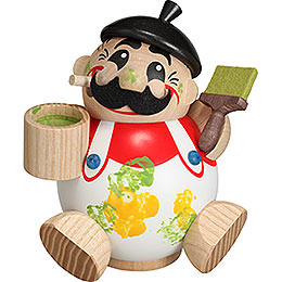 Smoker Ball Figur Smoker Painter  -  11cm / 4 inch
