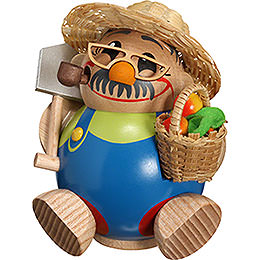 Smoker  -  Ball Figure Gardener  -  11cm / 4 inch
