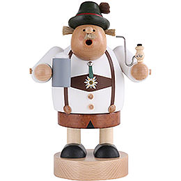 Smoker Bavarian with stein  -  20cm / 8 inch