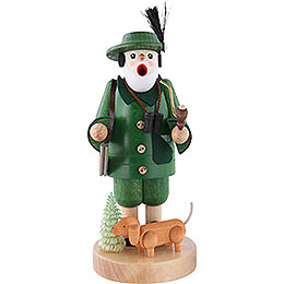 Smoker Forest Ranger with Dachsdog  -  7 inch  -  19cm