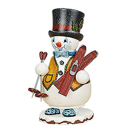Smoker Gnome Ski teacher  14cm / 5inch