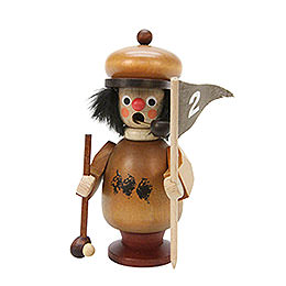 Smoker Golfer natural colors  -  10,8cm / 4 inch