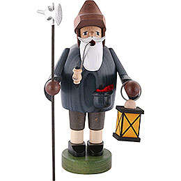 Smoker Nightwatchman with Lantern  -  36cm / 14 inch