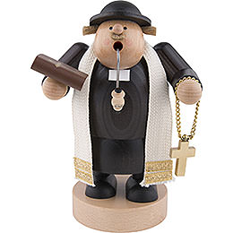 Smoker Preacher with bibel  -  19cm / 7 inch