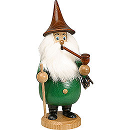 Smoker Rooty - Dwarf green  -  19cm / 7 inches